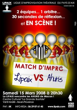 Apéro impro Lipaix 7 Février 2008