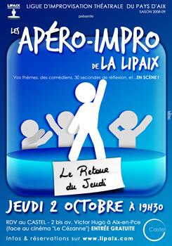 Apéro impro Lipaix 2 Octobre 2008