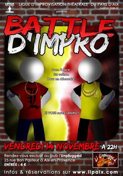 Battle d'impro 14 novembre 2008